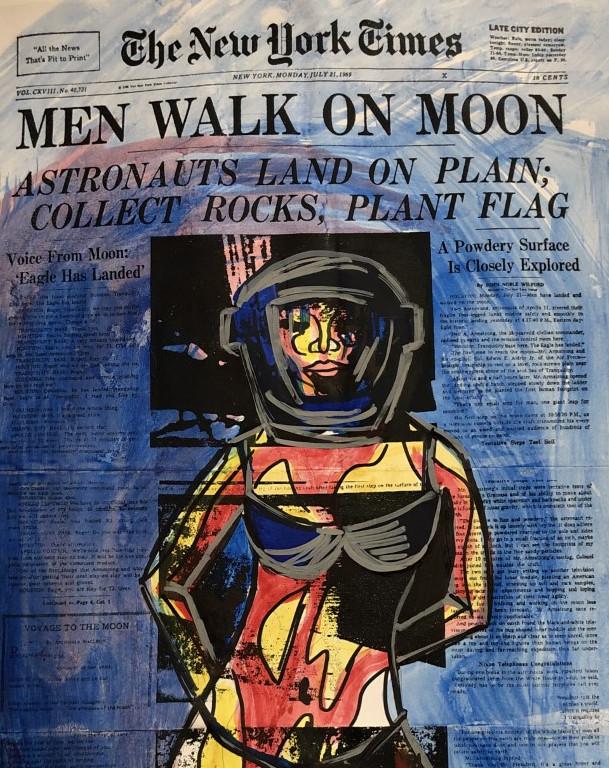 MEN WALK ON MOON - DETTAGLIO 2